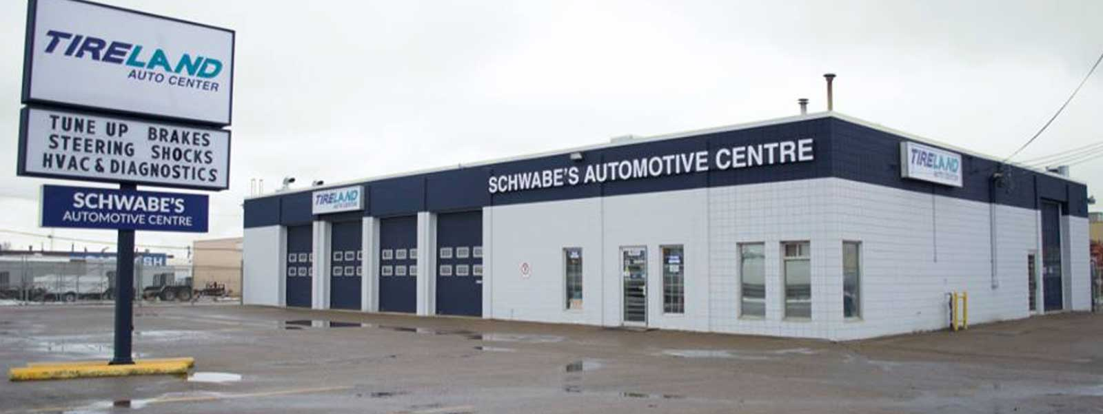 Auto Service Center in Edmonton - Schwabe's Automotive Center